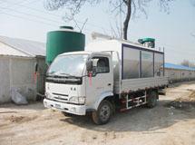 4吨散装饲料运输车