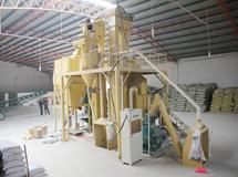 时产8吨粉料饲料机组