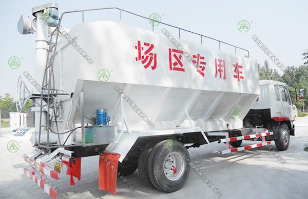8吨散装饲料运输车(河南客户)