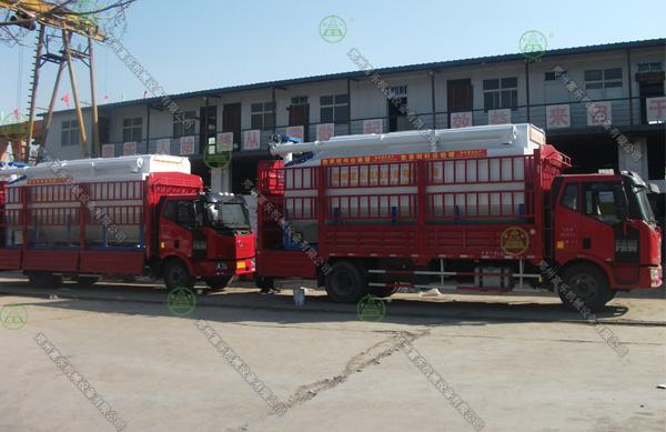 20吨散装饲料运输车(西藏客户)