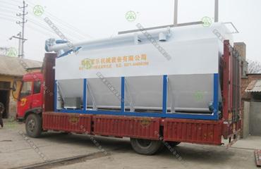 18吨散装饲料运输车(河北客户)