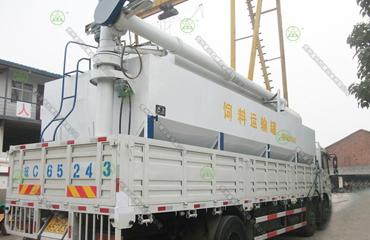 15吨散装饲料运输车(山东客户)