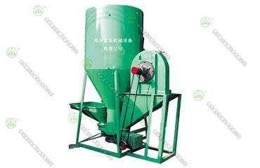 立式饲料粉碎混合机(柴油机动力)