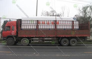 15吨散装饲料运输车(山西客户)