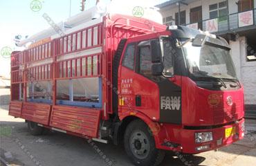 18吨散装饲料运输车(安徽客户)
