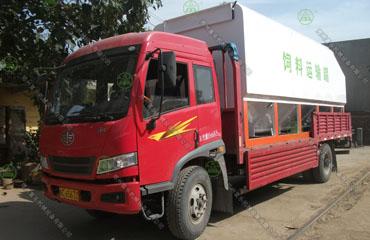 15吨散装饲料运输车(鹤壁客户)